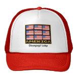 diamond flag 9 trucker hats