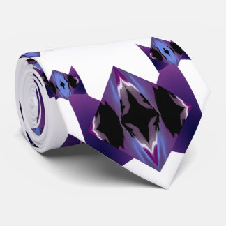 Diamond Flair Tie 4 Men-Purple/Blue/White/Black