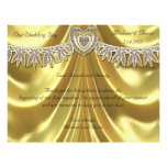 Diamond Fleurette & Satin Gold Full Color Flyer