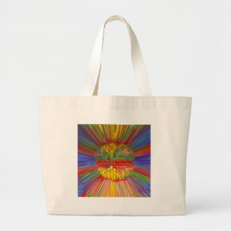 Diamond Flower Digital Graphic ART Gifts FUN love Tote Bag