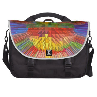 Diamond Flower Digital Graphic ART Gifts FUN love Laptop Computer Bag