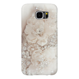 Diamond Flower Samsung Galaxy 6 Barely There Case Samsung Galaxy S6 Cases