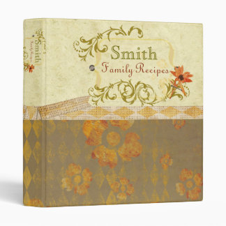 Diamond Flurish Recipe Binder