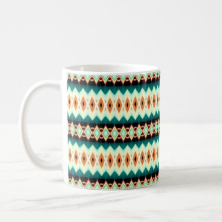 Diamond Fractal Pattern Coffee Mug