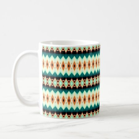 Diamond Fractal Pattern Coffee Mug