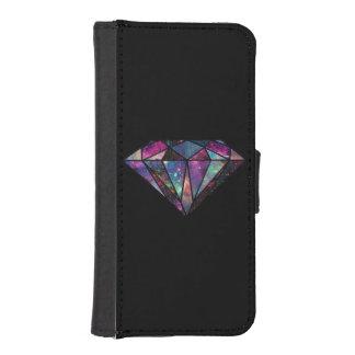 Diamond Galaxy Wallet Case Phone Wallet