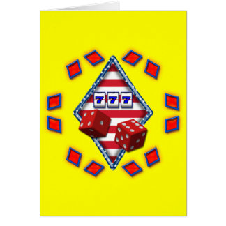 DIAMOND GAMING CARD