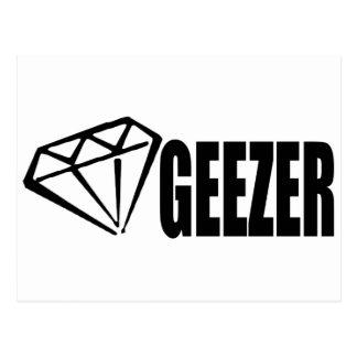 DIAMOND GEEZER POSTCARD