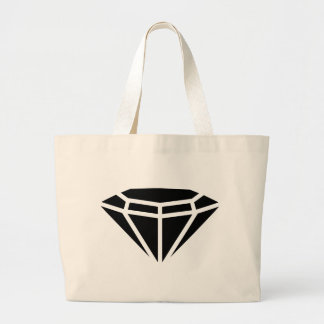 Diamond gem large tote bag