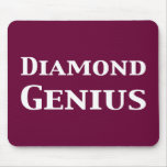 Diamond Genius Gifts Mouse Mat