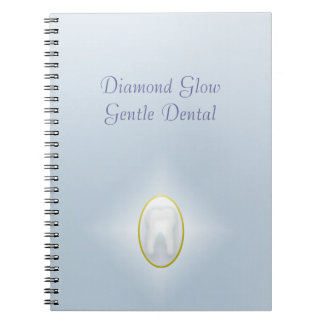 Diamond Glow Gentle Dental Notebook
