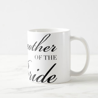 Diamond Godmother of Bride Black Coffee Mug
