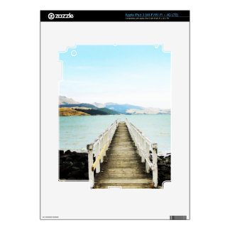 Diamond harbor New Zealand iPad 3 Skin