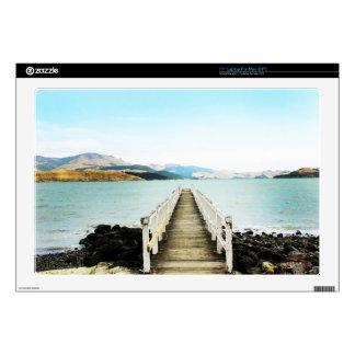 "Diamond harbor New Zealand 17"" Laptop Skin"
