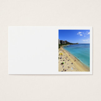 Diamond Head and Waikiki Business Card