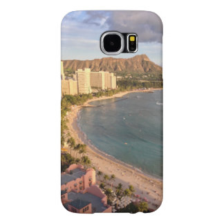 Diamond Head and Waikiki Samsung Galaxy S6 Case