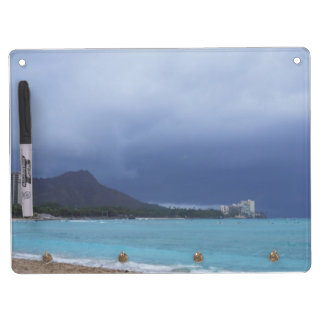 Diamond Head dry erase board/key holder