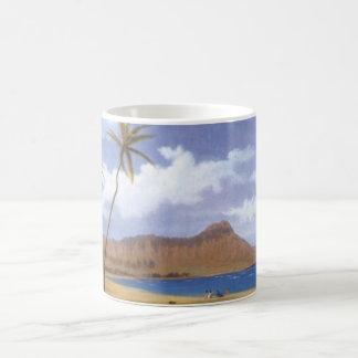 Diamond Head from Waikiki Coffee Mug
