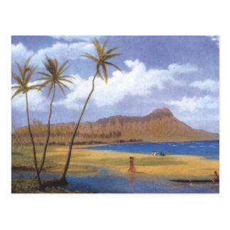 Diamond Head from Waikiki Post Cards
