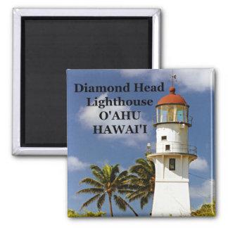 Diamond Head Lighthouse, O'ahu, Hawai'i Magnet