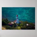 Diamond Head Lighthouse Print