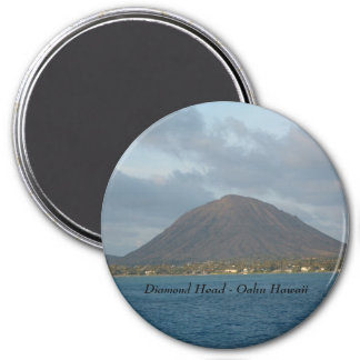 Diamond Head - Oahu Hawaii Fridge Magnet