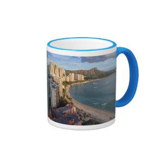 Diamond Head, Waikiki Beach, Hawaii Mug