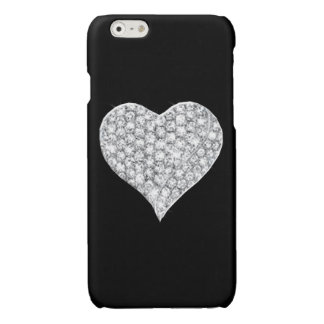 Diamond Heart iPhone 6 Case Glossy iPhone 6 Case