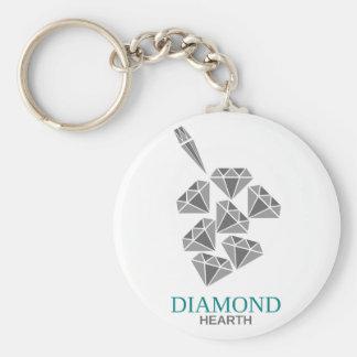 diamond hearth keychain