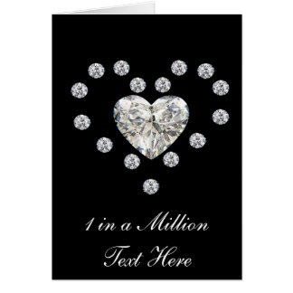 Diamond Hearts Card