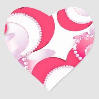 Diamond-Hearts Heart Sticker