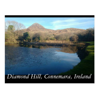 Diamond Hill, Connemara, Ireland Postcard