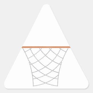 Diamond Hoops Triangle Sticker