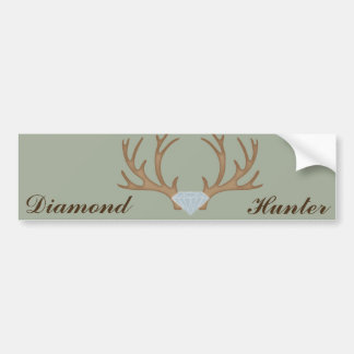 Diamond Hunter Bumper Sticker
