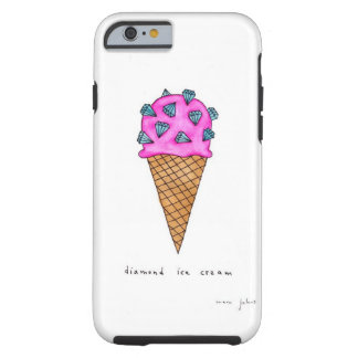 Diamond Ice Cream Tough iPhone 6 Case