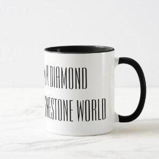 Diamond in a rhinestone world mug