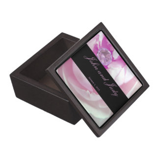 Diamond in Pink Rose Personal Wedding Gift Box