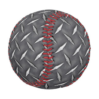 Diamond Industrial Style Background Customize This Baseball