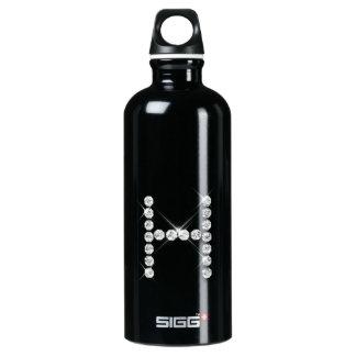 Diamond Initial H SIGG Traveler 0.6L Water Bottle