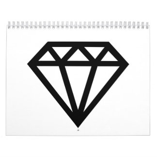 Diamond jewel calendars