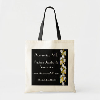Diamond jewelry-black tote bag