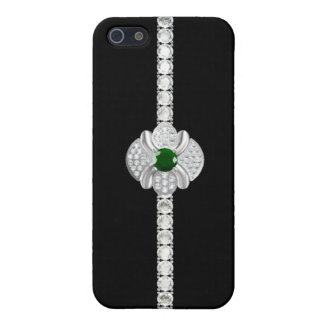 Diamond jewelry cover for iPhone SE/5/5s