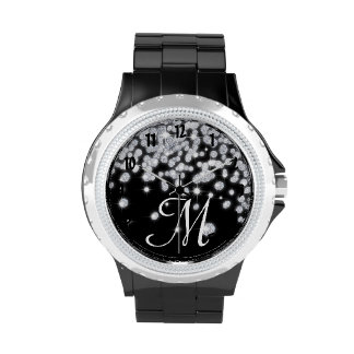 Diamond Jewels Jewelry Glitz Glam Glamour Watch