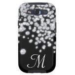 Diamond Jewels Jewelry Monogram Samsung Galaxy S3 Galaxy S3 Case