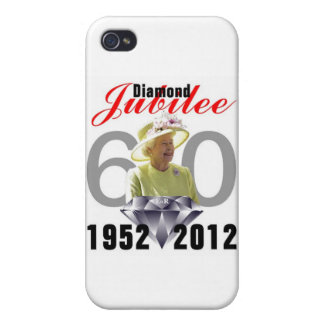 Diamond Jubilee 1952-2012 iPhone 4/4S Case