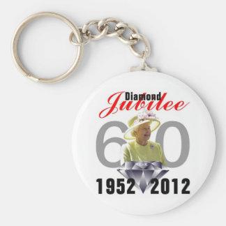 Diamond Jubilee 1952-2012 Key Chains