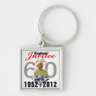Diamond Jubilee 1952-2012 Keychain