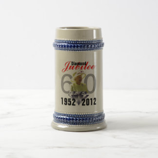 Diamond Jubilee 1952-2012 Stein