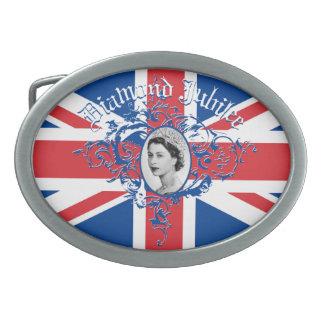 Diamond Jubilee 2012 Belt Buckles