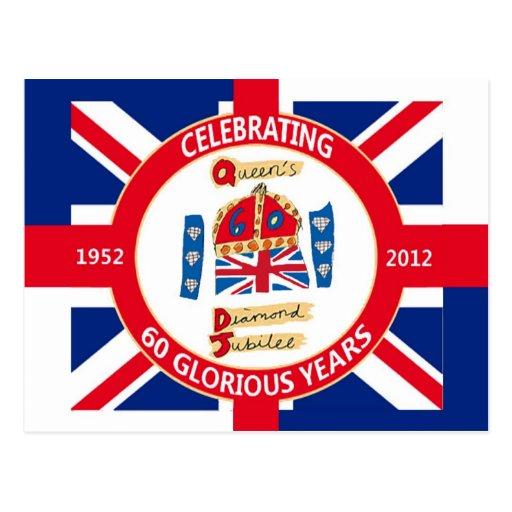 Diamond Jubilee 2012 Celebration Postcards